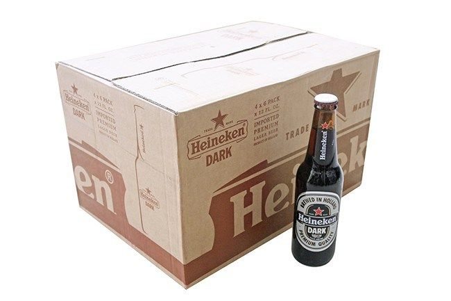 Bia Heineken Đen 5% - Chai 355ml - Bia Nhập Khẩu TPHCM
