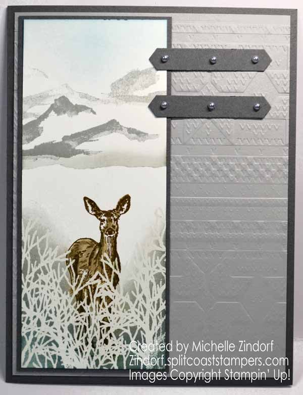Snowy Nature's Beauty – Stampin' Up! Card