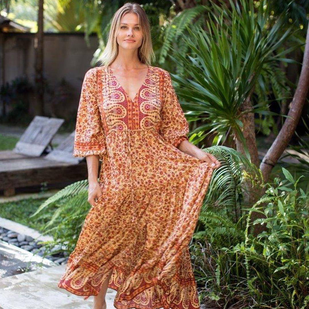 Pre Order Amber Peasant Dress Peasant Dress Over 60 Fashion Fashion [ 1080 x 1080 Pixel ]
