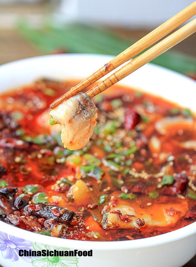 Boiled fish sichuan recipe chili oil fish and oil boiled fish sichuan chinese food recipeschinese cuisinefish recipesasian forumfinder Image collections