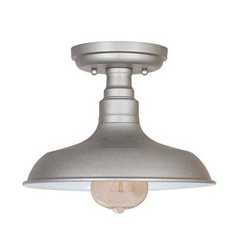 Design house kimball ceiling mount industrial light semi flush mount lights at hayneedle