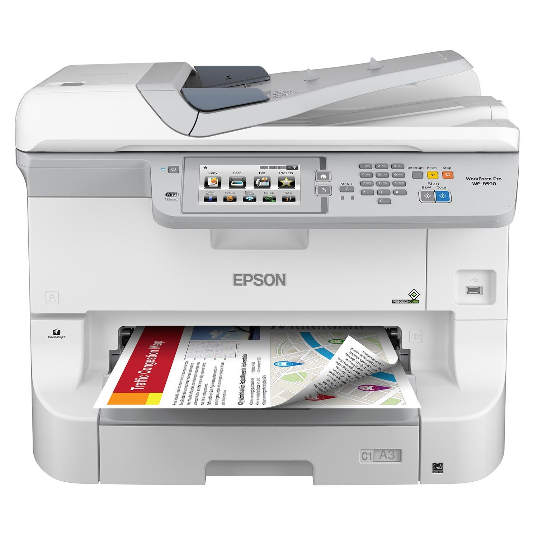 Epson® WorkForce Pro WF-R8590 A3 Multifunction Printer, Inkjet Printer,  Microsoft Windows