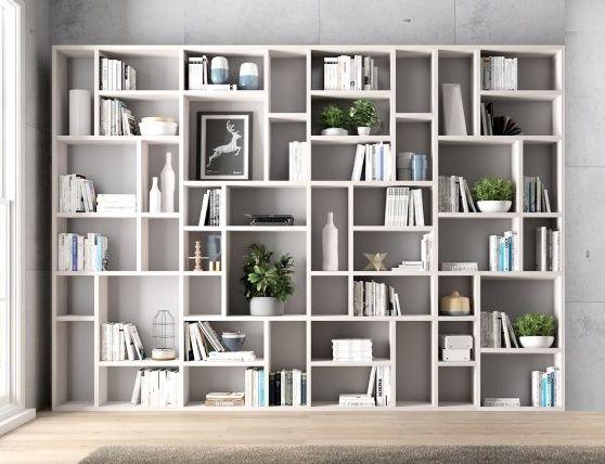 Photo of libreria soggiorno art. nes237