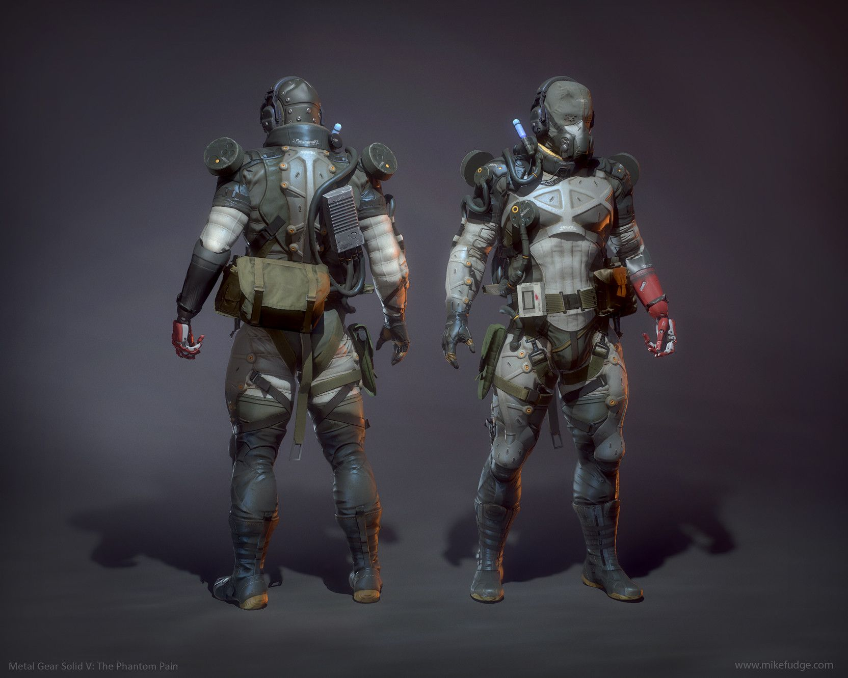 Artstation metal gear solid v the phantom pain snake for Metal concept
