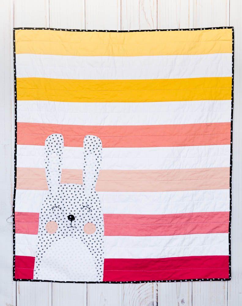 Modern Baby Quilt Pattern – A Modern Ombre Quilt