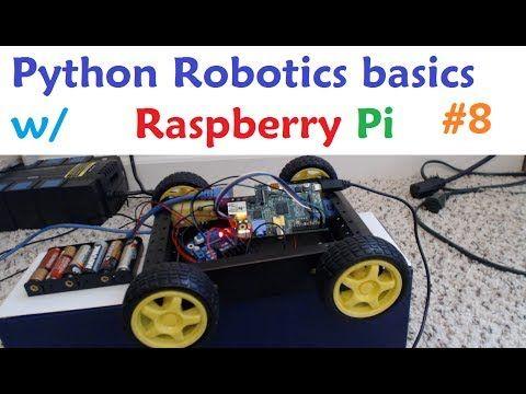 Raspberry pi with Python for Robotics 8 - Remote Control Car