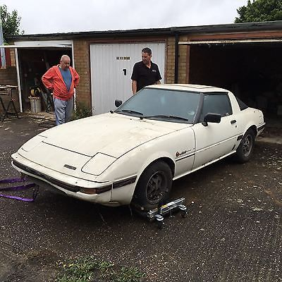 EBay Mazda RX7 FB Barn Find Restoration Spares Or Repair Save