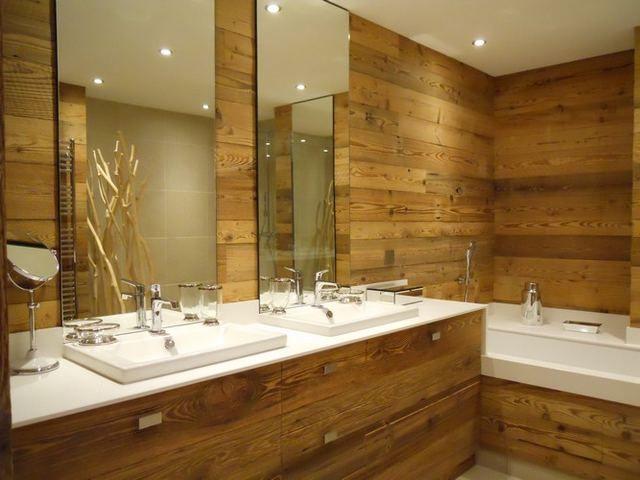 salle de bain montagne - Recherche Google | Ambiance Montagne ...