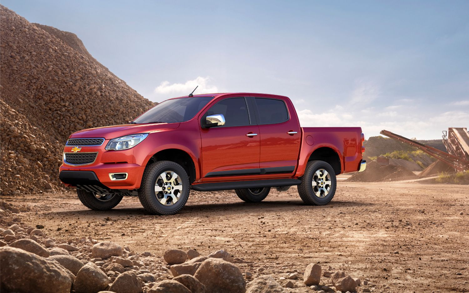 Gm confirms new chevrolet colorado pickup for u s wot on motor trend