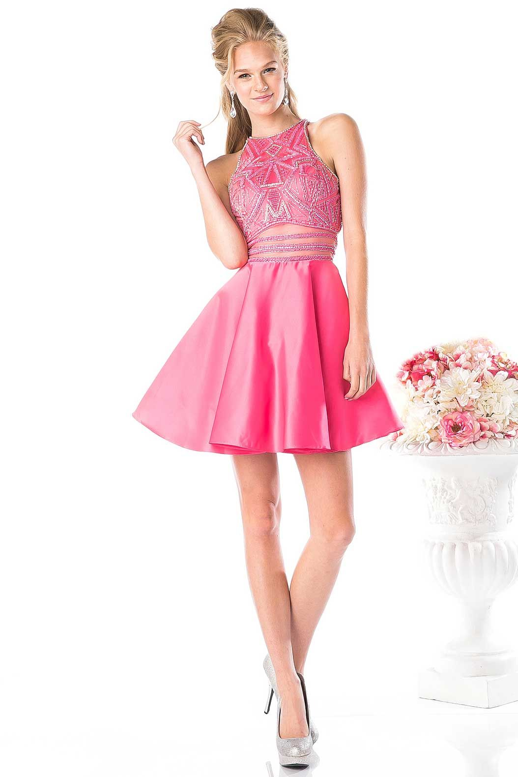Prom Dress CD82325S. A-Line Short Prom and Cocktail Dress has ...