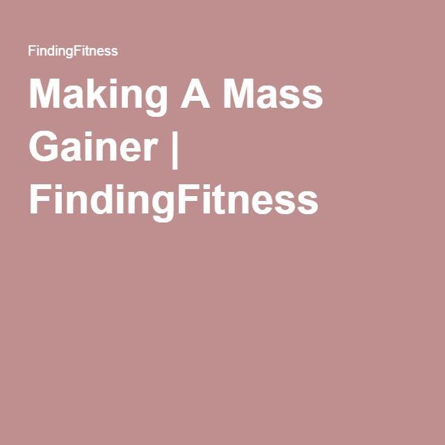 Making A Mass Gainer | FindingFitness