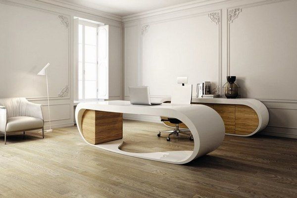 mesa oficina | MUEBLES en 2019 | Oficinas de diseño, Oficina ...