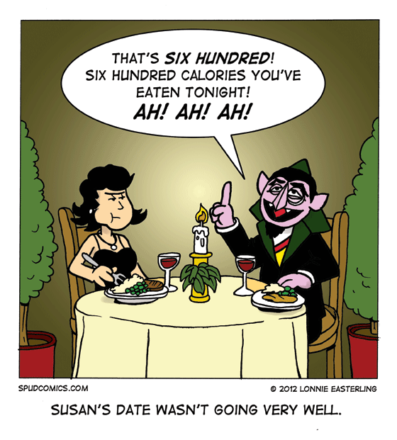 Dating a count is okay. Dating The Count, not so much.