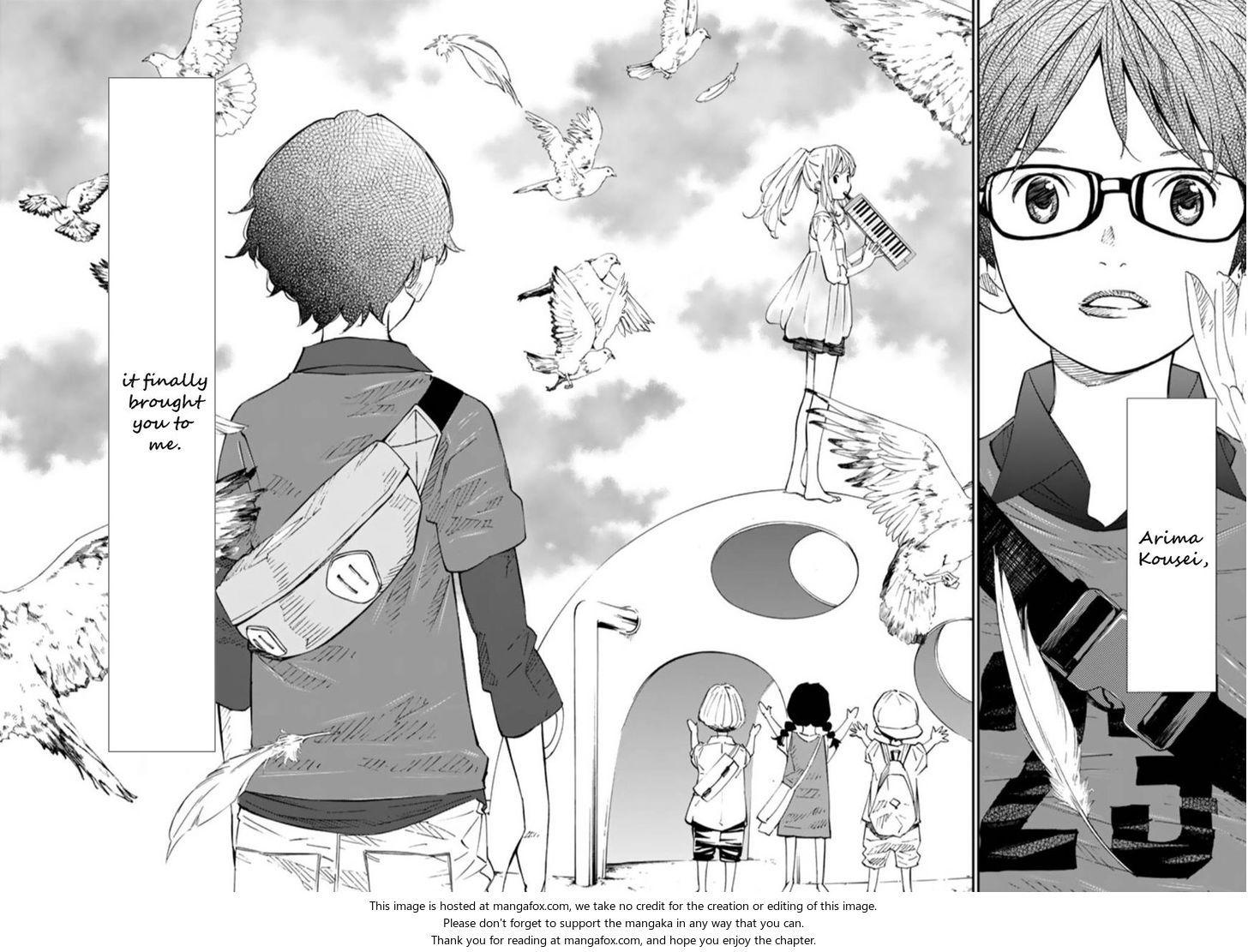 Shigatsu wa Kimi no Uso 44 [End] at MangaFox.me