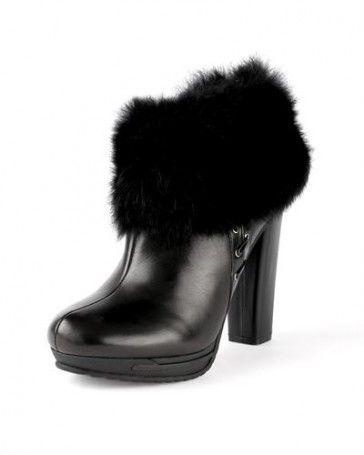 Just Cavalli 100% Leather Heel Booties