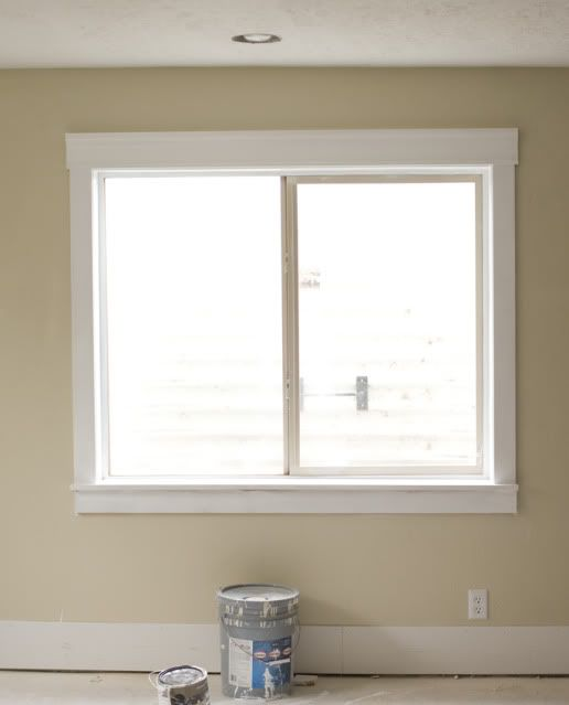 Modern interior window trim the image for Modern window styles