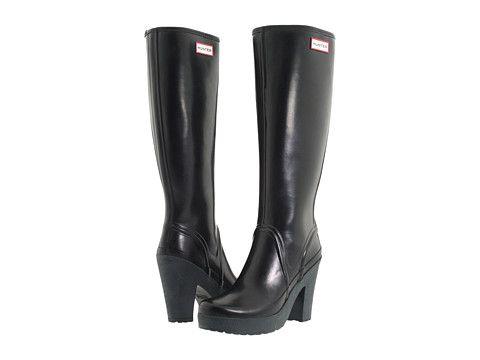 Sorel Medina iii High Heel Rain Boots Black 10.5