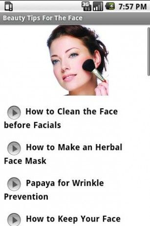 search for beauty tips  - Beauty Tips