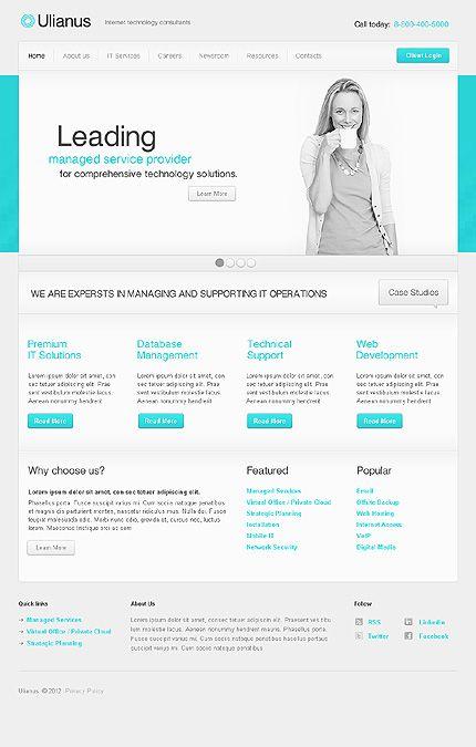 Template 36893 Professional Web Design Web Development Design Web Design