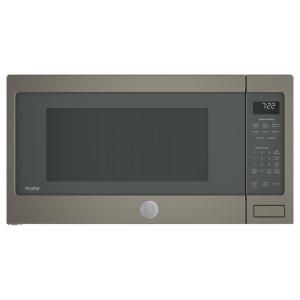 1 6 Cu Ft Over The Range Microwave In Black In 2019 Ge Over