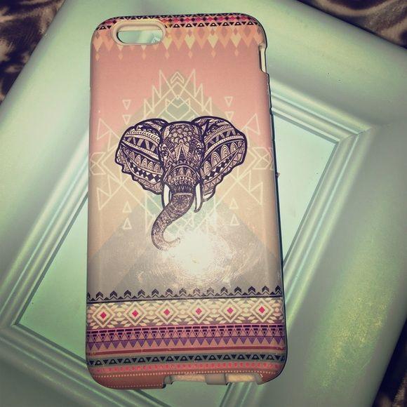 Elephant IPhone 6 Double Case Elephant Accessories Phone Cases