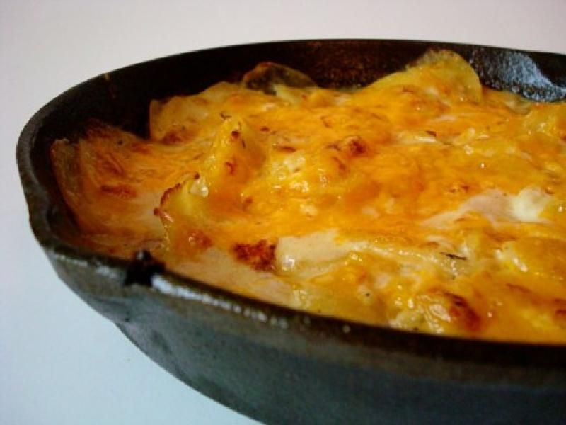 Cheddar scalloped potatoes recipe from the italian kitchen