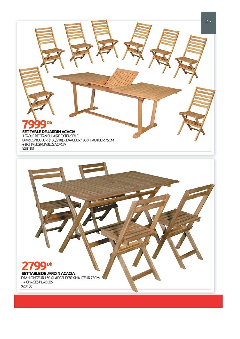 Catalogue Mr Bricolage Maroc Brochures Et Depliants Du Aout 2020 Joodek Maroc Outdoor Furniture Sets Outdoor Chairs Outdoor Furniture