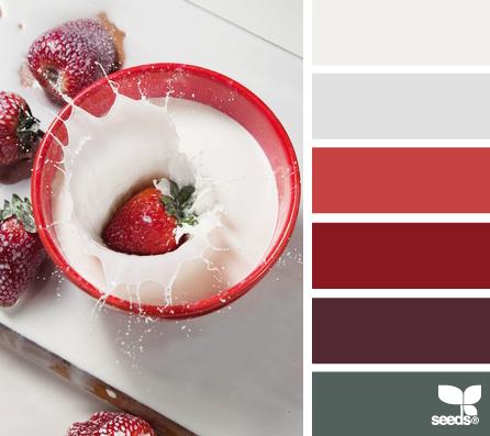 Design Seeds { strawberry splash }