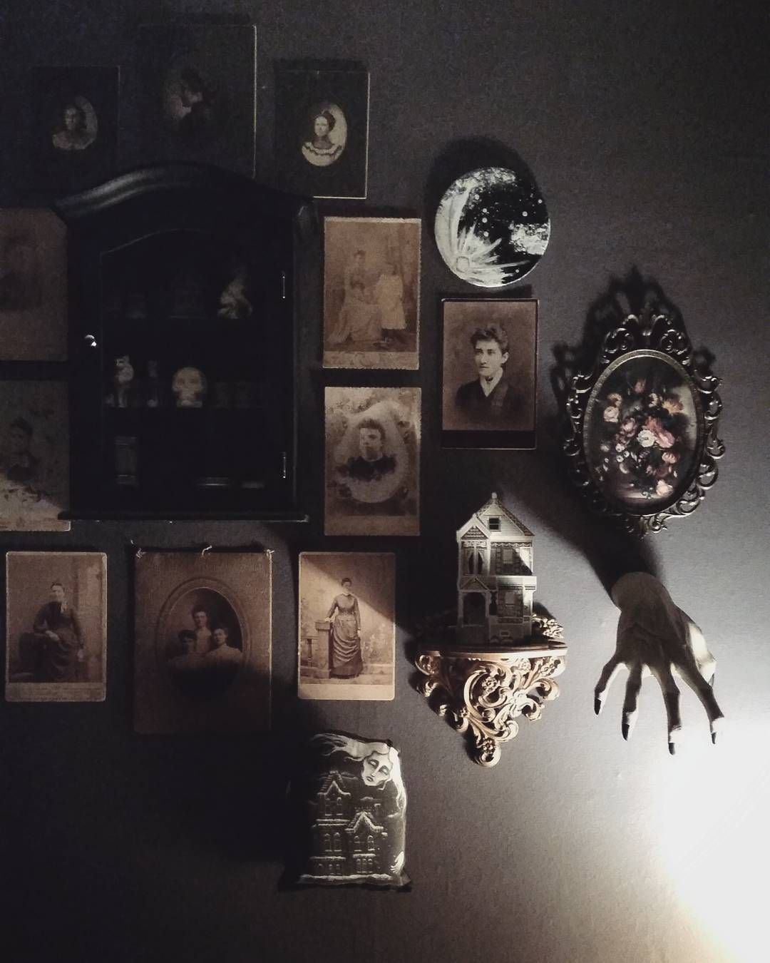 By Frost Oath On Instagram Goth Home Decor Horror Decor Quirky Decor