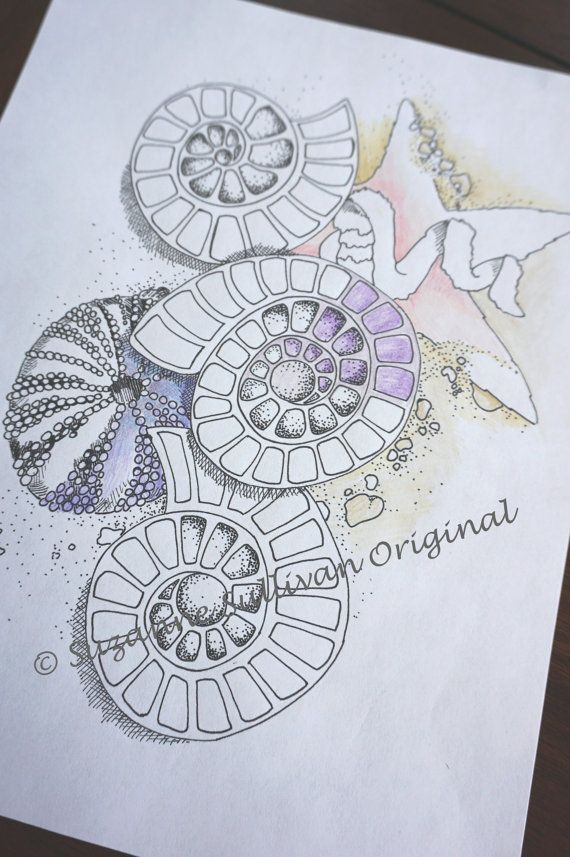 Sea S Coloring Page Nautical Ss By Colormeartstudio