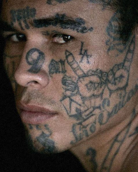 Cholo Tattoos Face: Pin By Sarah Dodson On Cholos....