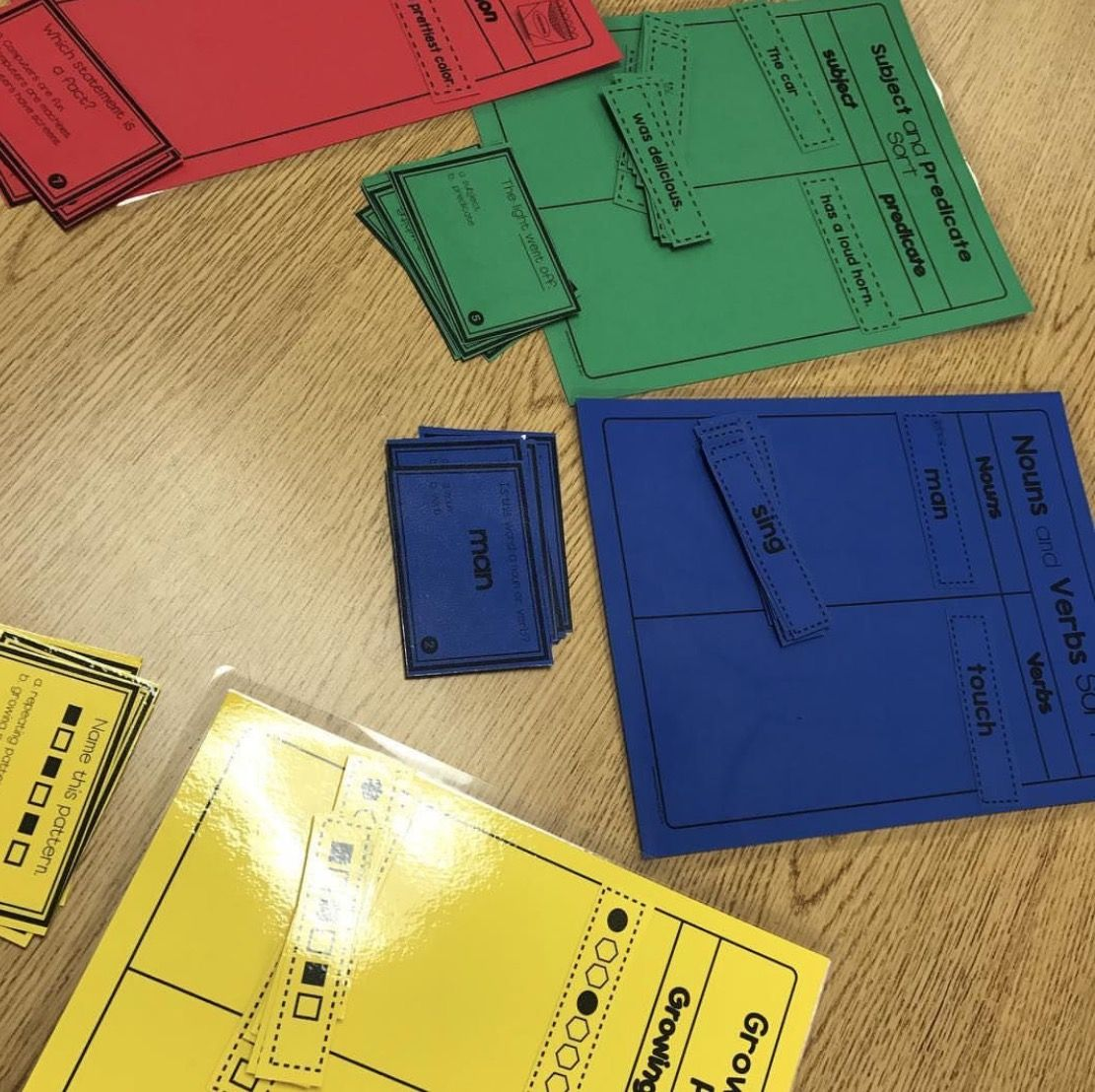 Have You Checked Out My Teach And Print Sort Activities