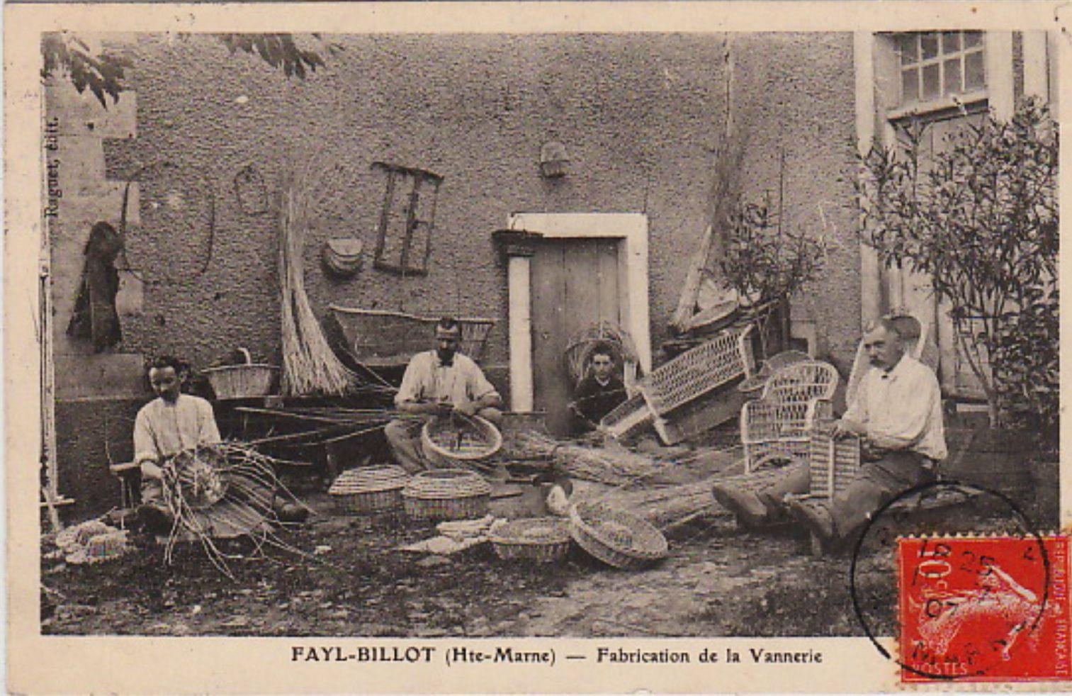 vannerie de fayl billot woven basket weaving old baskets. Black Bedroom Furniture Sets. Home Design Ideas