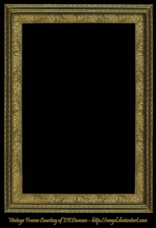 Antique Scroll Frame Rectangular Creation Ekduncan Frame Vintage Frames Vintage Picture Frames