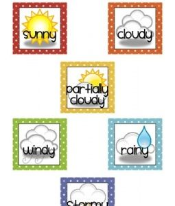 Weather chart absolutely adorable also free printable for preschoolers paint on the ceiling rh pinterest