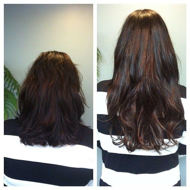 Get Longer Natural Looking Hair At Mermaid Hair Extensions In
