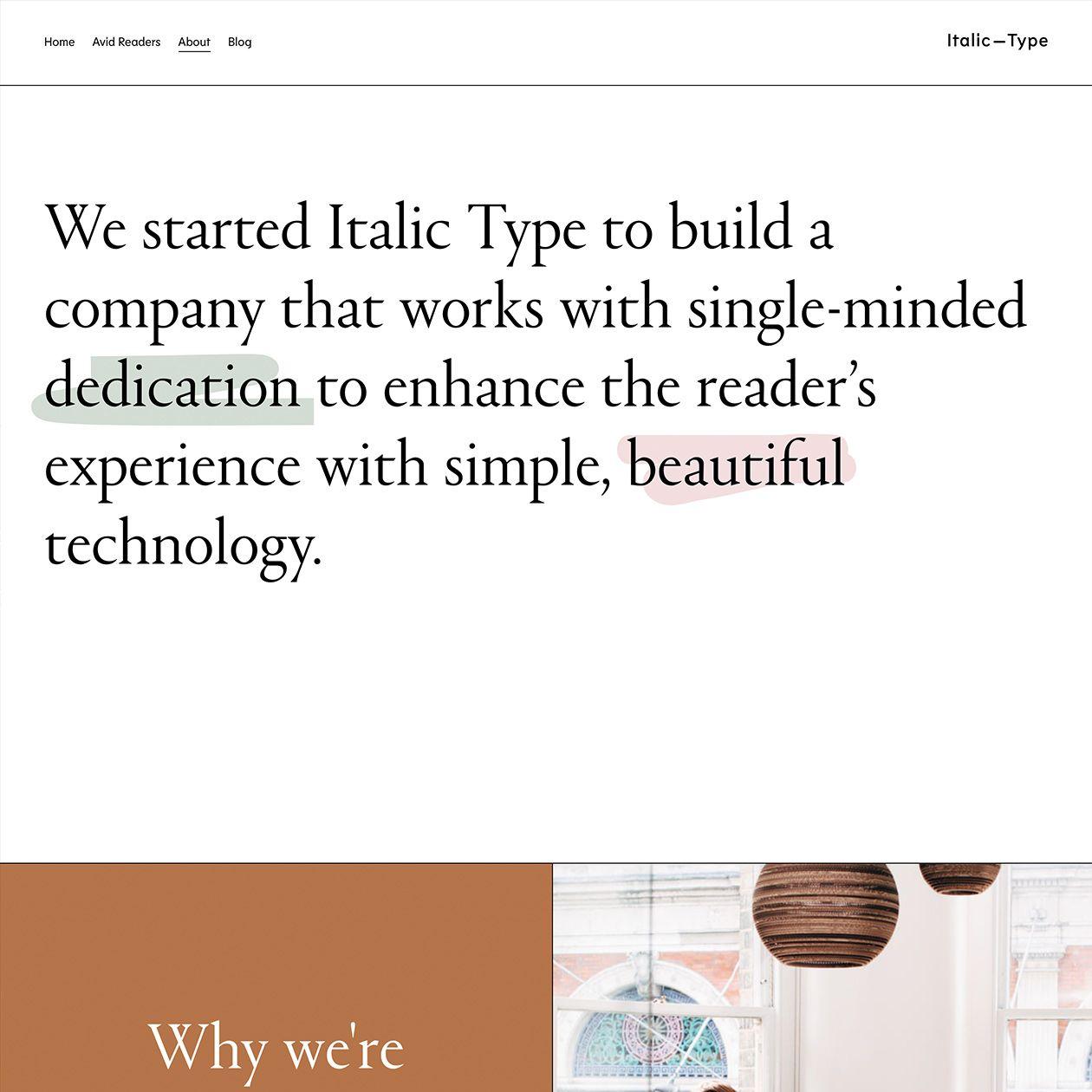 Italic Type Typewolf Type Web Design Book Discussion