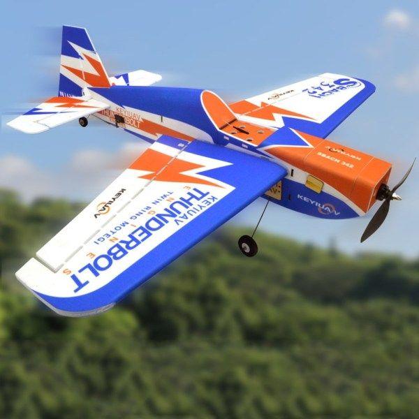 KEYIUAV SBACH 342 900mm Wingspan PP 3D Aerobatic RC