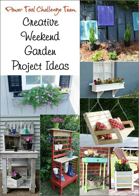 Creative weekend garden projects to make do it yourself today power tool challenge team creative weekend garden project ideas myrepurposedlife solutioingenieria Gallery