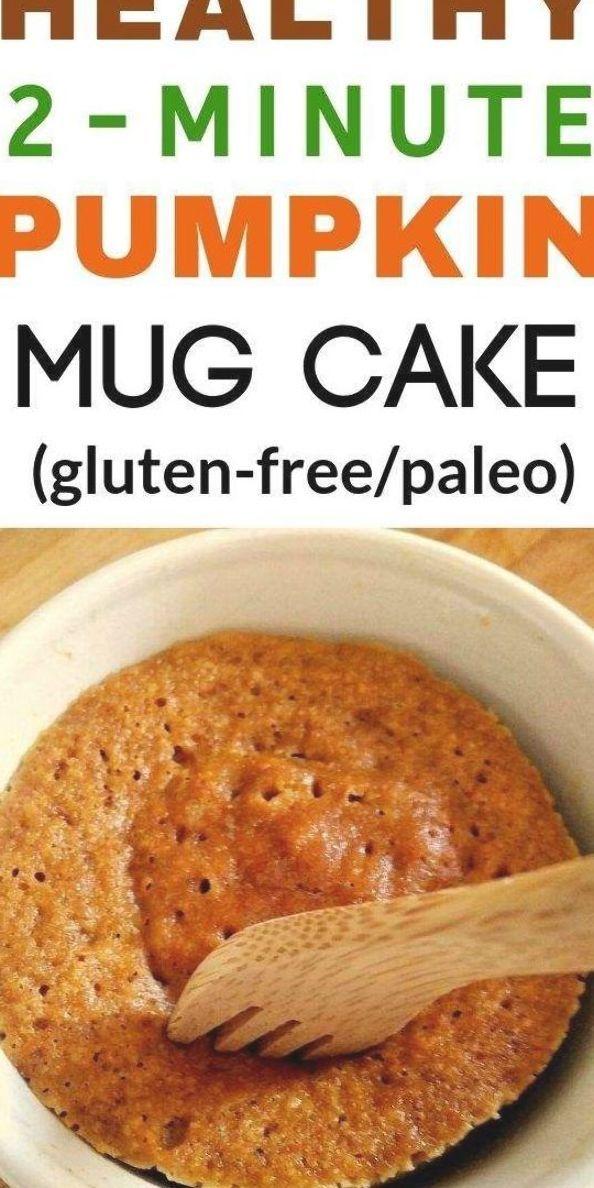 Pumpkin mug cake recipe. This healthy pumpkin mug cake ...