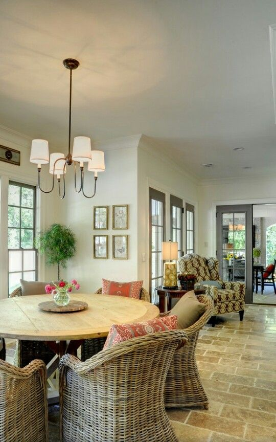 Pin de Terri Faucett en Dining Spaces | Pinterest