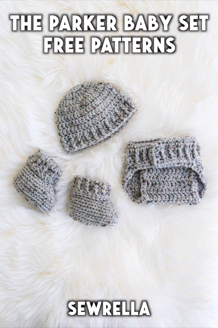 Photo of Crochet Parker Baby Set – free patterns
