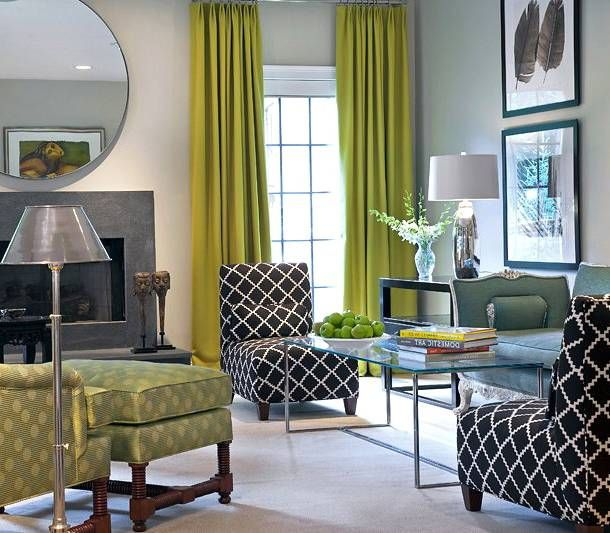 Olive Green Curtains For Different Rooms