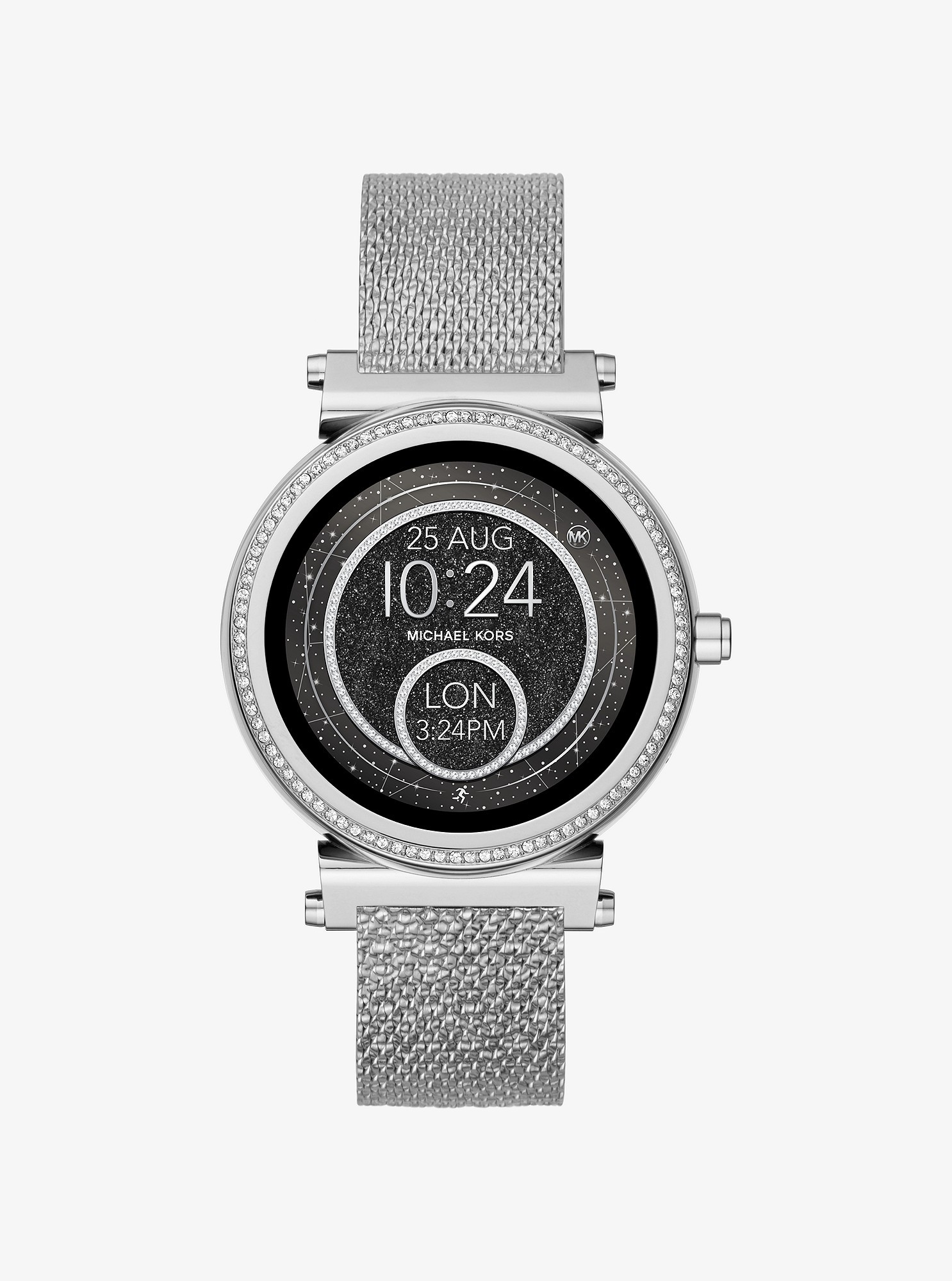 b23f9926e8ac Sofie Silver-Tone Smartwatch Strap by Michael Kors in 2019 ...