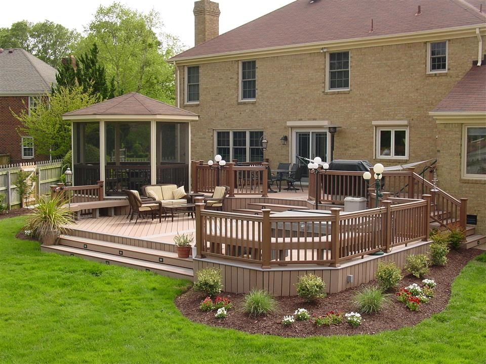 Image result for maintenance free yards deck designs