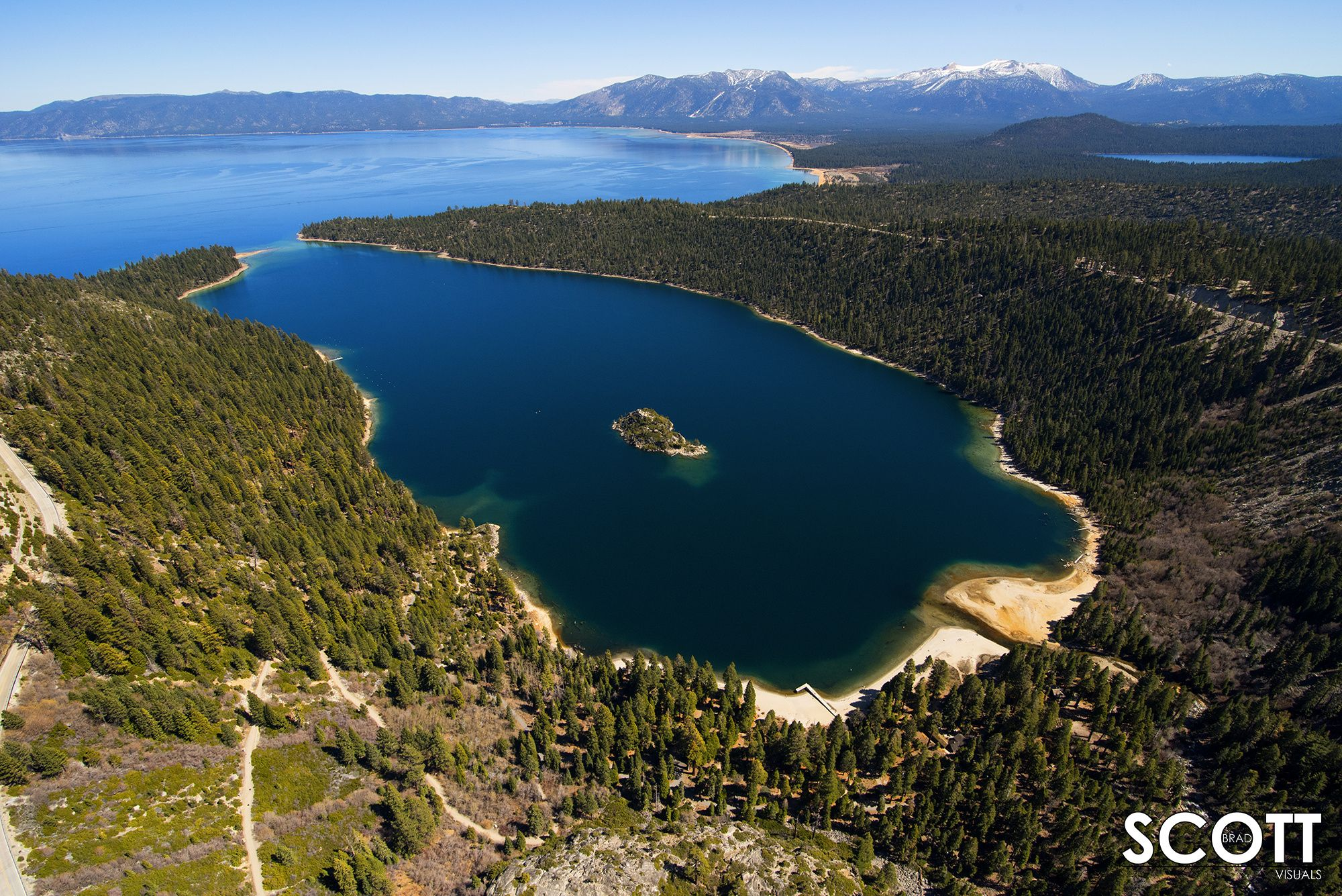 Emerald Bay In South Lake Tahoe, Ca Is One Of