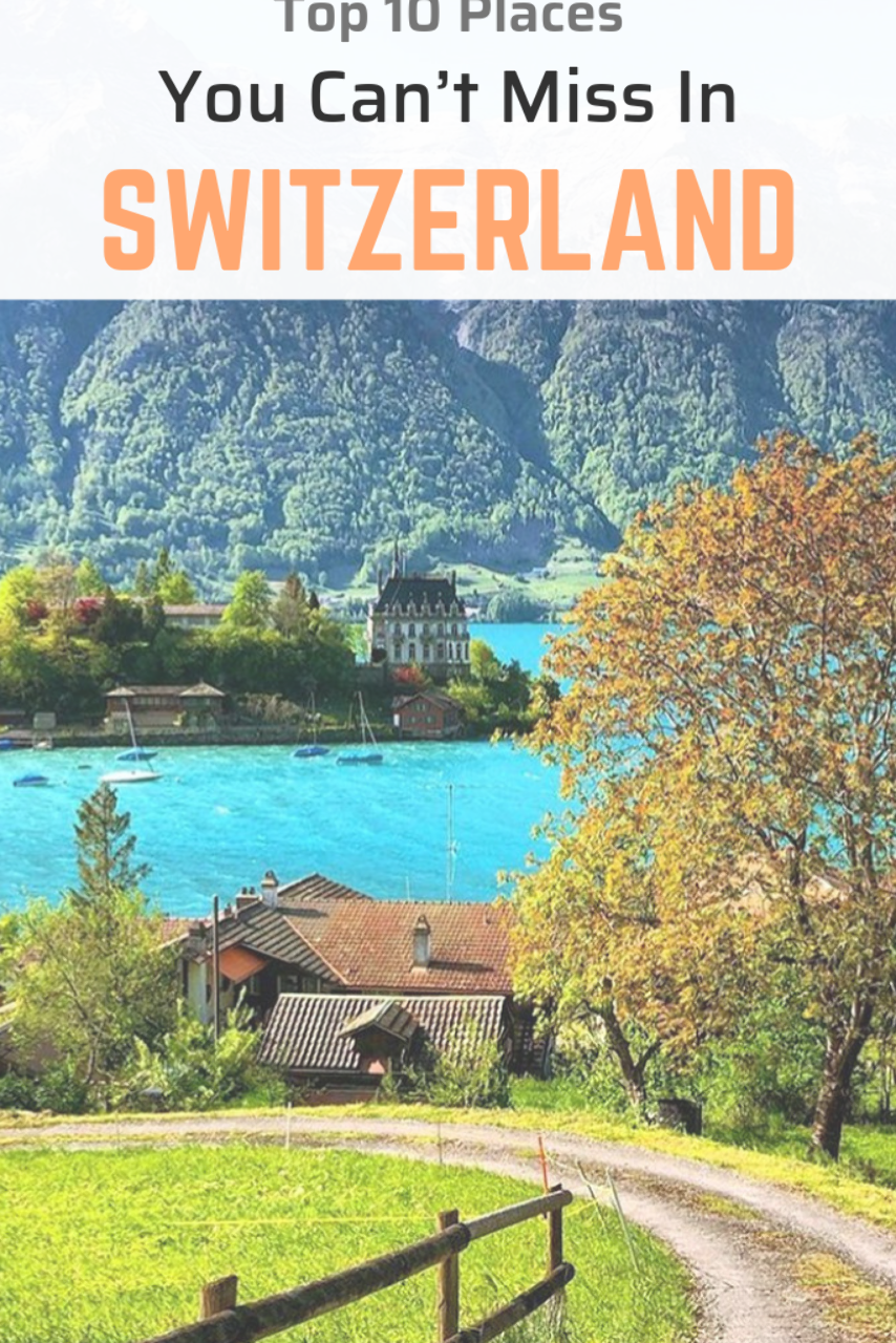 Whether you visit Switzerland for its bucolic scenery or dramatic mountain ranges, there's nothing forgettable about this European nation.
