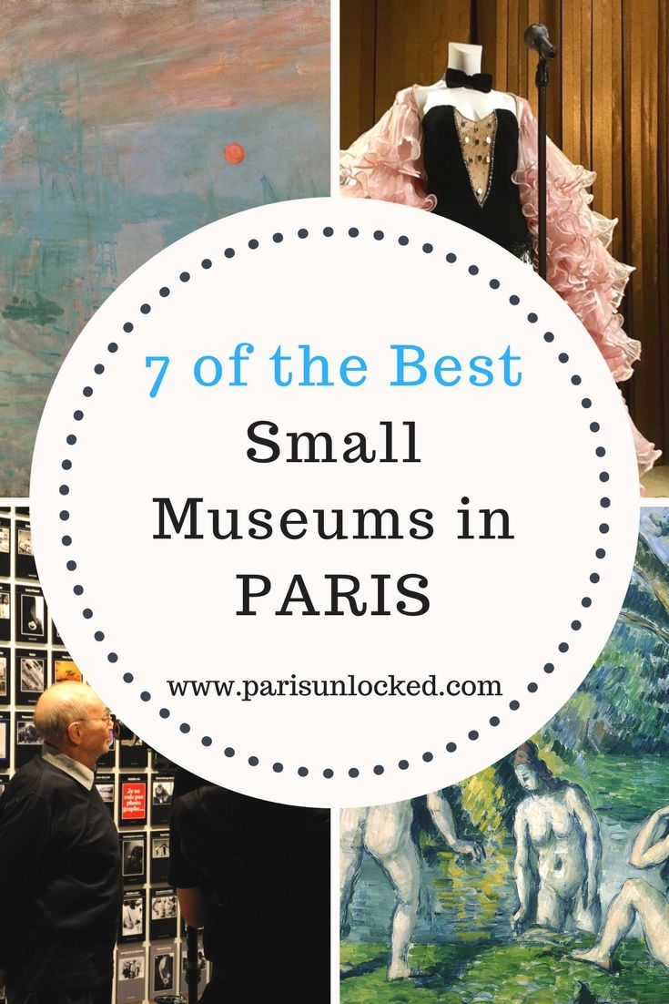 Some of the best art collections in Paris are at small museums like these 7 gems.