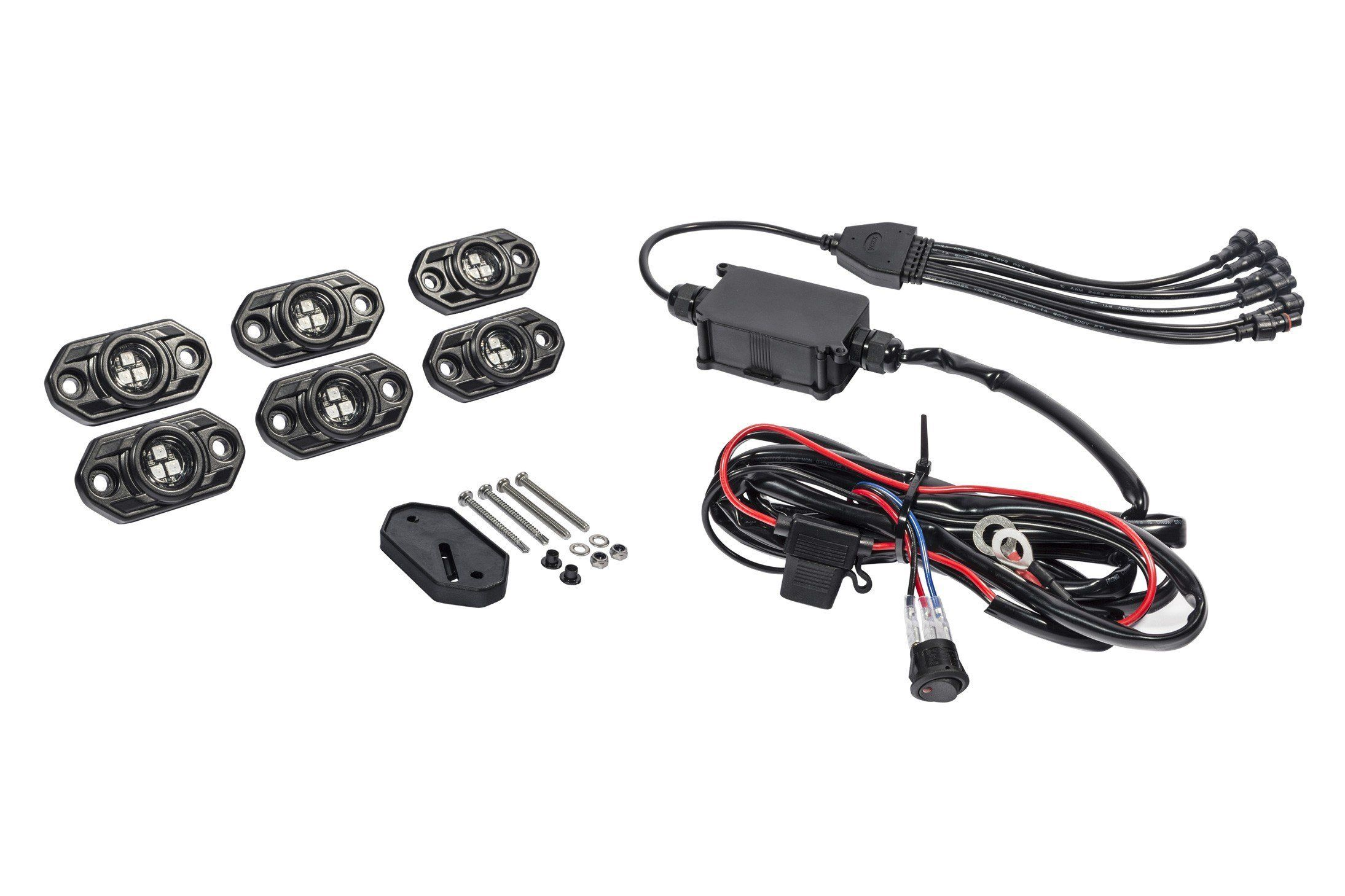 Kc Hilites C Series Rgb Led Rock Light Kit 339