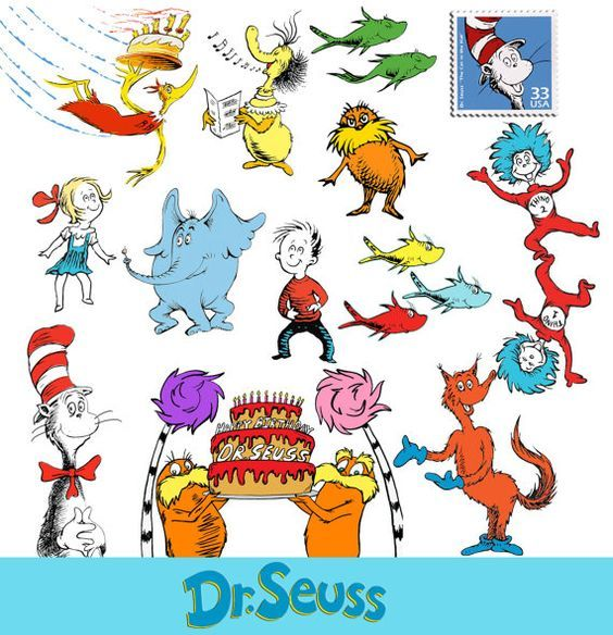 Cat in the hat dr seuss clipart the cat in hat clip art printable